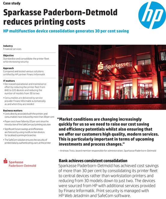 HP Customer Case Studies for Laser   PageWide Printer   MFP